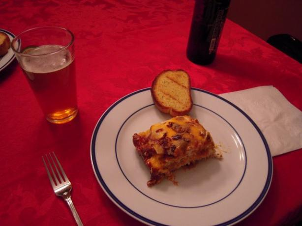 Barbecue Lasagna. Photo by Pat (Chef #1185858)