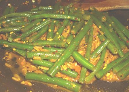 Achingya Thoren (Kerala Style Green Bean Curry). Photo by Karen Elizabeth
