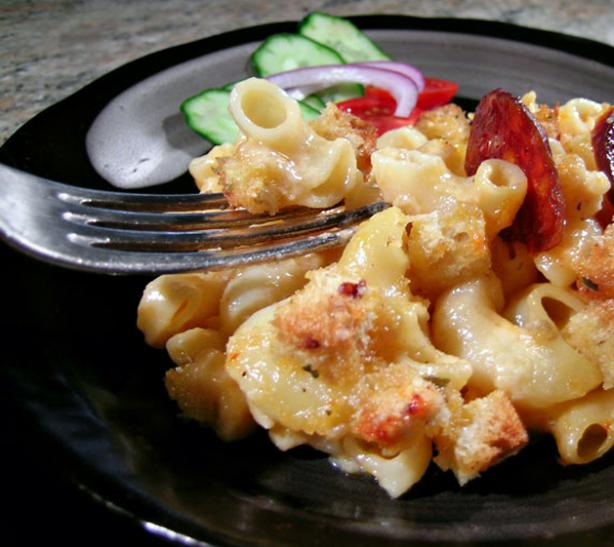 Smoked Macaroni and Cheese. Photo by Rinshinomori
