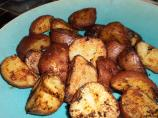 Red Pepper Crusted Grilled New Potatoes