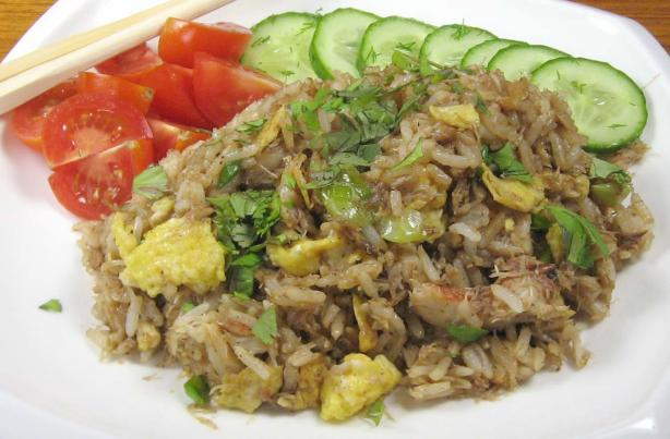 Big John&#39;s Thai Crab Fried Rice (Khao Phad Pu). Photo by dianegrapegrower