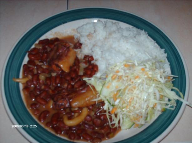 Stew Peas and Rice. Photo by Chef #1192063