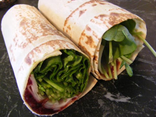 Turkey and Cranberry Wrap (21 Day Wonder Diet: Day 9). Photo by Sara 76