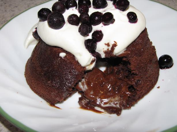 Molten Lava Cake. Photo by Chef Luny