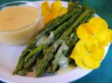 Asperge Violette: Violet Asparagus With Hollandaise Sauce