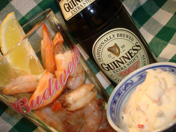 A Pint of Prawns and Guinness Chaser - British Pub Grub!. Photo by Vicki in CT