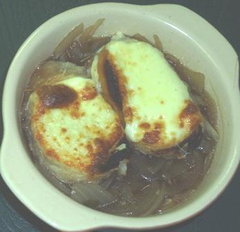 Italian Onion Soup. Photo by Karen Elizabeth