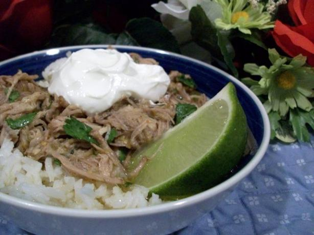 Authentic Mexican Pork Chile Verde. Photo by 2Bleu