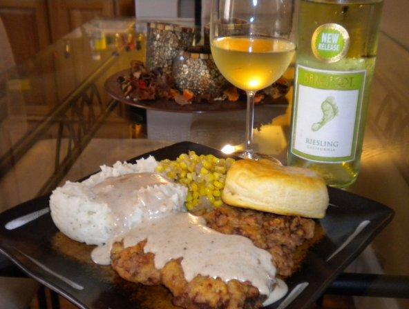 Country Fried Steak. Photo by T&J Caldwell-he cooks I eat