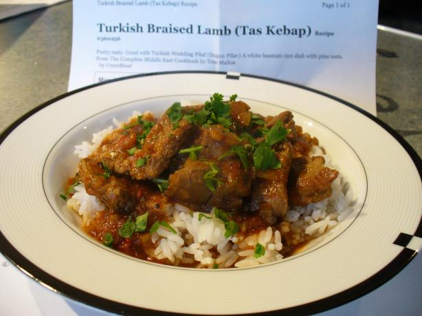 Turkish Braised Lamb (Tas Kebap). Photo by IngridH