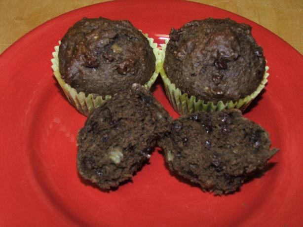 Chocolaty Decadence Banana Muffins. Photo by Greeny4444