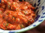 Low Fat Roasted Red Pepper Pesto