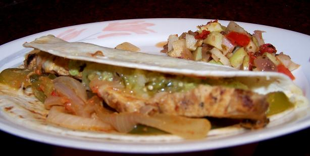 Authentic Spicy Chicken Tacos. Photo by Rita~