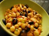 Chickpea &amp; Olive Salad