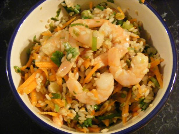 Thai-Flavoured Prawn Salad (21 Day Wonder Diet: Day 14). Photo by Sara 76