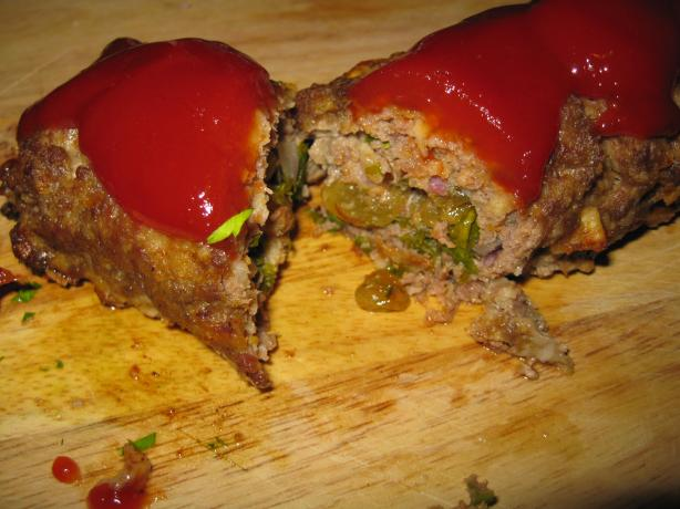 Rolled Meatloaf. Photo by threeovens
