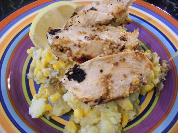 Mustard Chicken & Potato Smash (21 Day Wonder Diet: Day 15). Photo by Sara 76