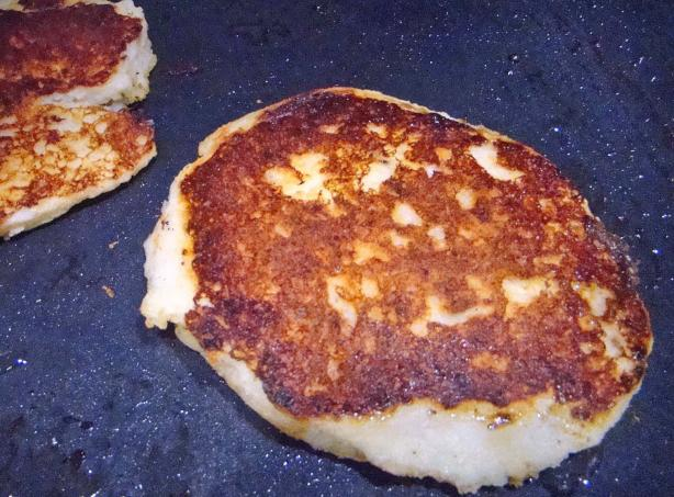 Garlic Mashed Potato Pancakes. Photo by Derf