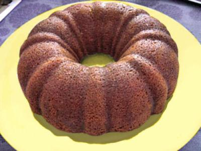 Ana Gourmet: Cinnamon Pumpkin Bundt Cake. Photo by Chef Roxanne D.