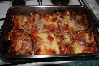 Vegetarian Enchiladas. Photo by Laowai wife