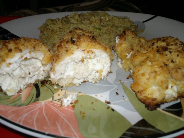 Savory Stuffed Chicken Breasts (Seasoned Cream Cheese Stuffing). Photo by lauraor87