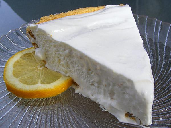 Frozen Lemonade Pie. Photo by Lavender Lynn