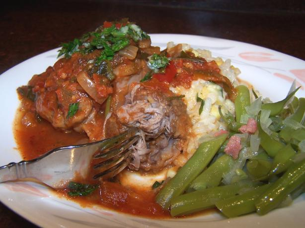 Osso Buco Tender Tex Mex. Photo by Rita~