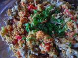 Tangy Chicken Couscous Salad