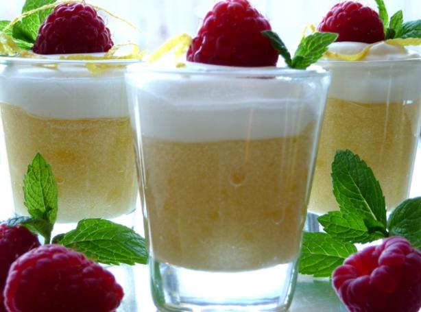 Limoncello, Raspberry & Mascarpone Mousse. Photo by BecR