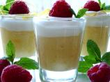 Limoncello, Raspberry & Mascarpone Mousse