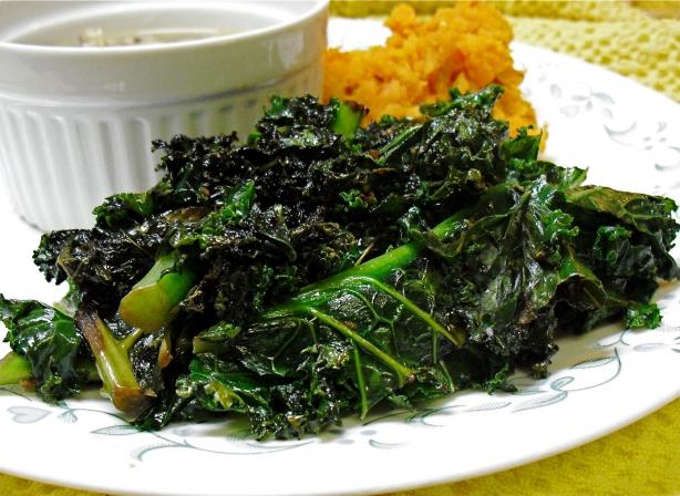 My Favorite Sauteed Kale. Photo by PaulaG