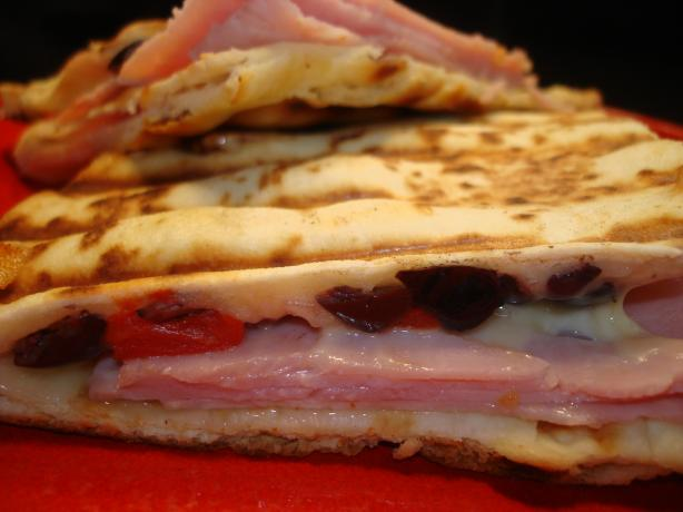 Ham and Gouda Panini. Photo by Vicki in CT