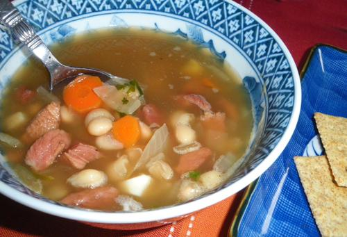 Navy Bean (Ham and Bean) Soup. Photo by Bergy