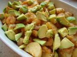 Cajun Potato, Prawn/Shrimp and Avocado Salad