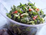 Tomato, Cucumber, and Green Pepper Chopped Salad