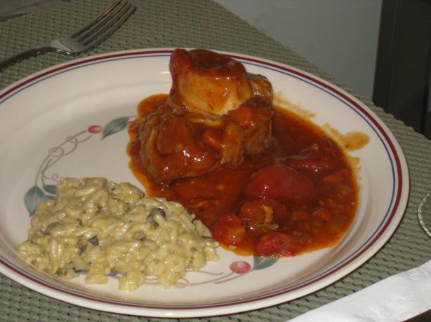 My Osso Buco. Photo by FrenchBunny