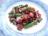 Black Bean Asparagus Salad