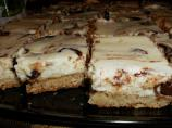 Nutella Swirl Sugar Cookie Cheesecake Squares