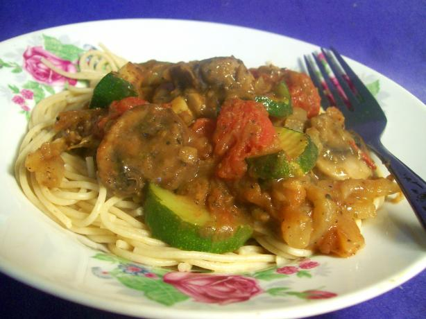Spaghetti With Lentil Bolognaise. Photo by Sharon123
