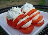 Tomates Farcies D'oeuf (Egg-Stuffed Tomato W/Herb Mayo - France)