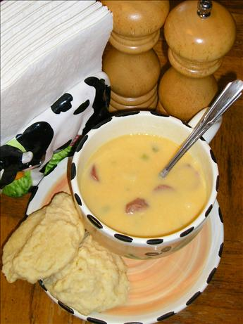Smoked Sausage Beer Cheese Soup. Photo by Swan Valley Tammi