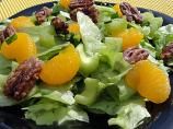Mandarin Orange Salad With Sugared Pecans