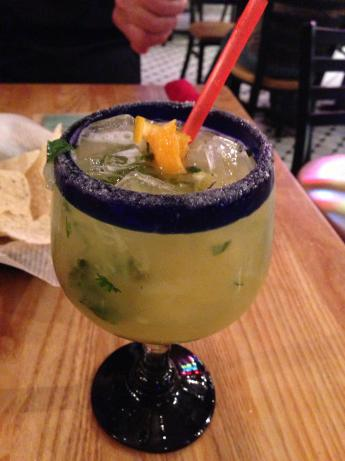 Pineapple Cilantro Lime Margarita. Photo by rexm210