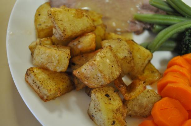 Cumin Potatoes. Photo by I&#39;mPat