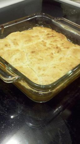 Quick and Easy Peach Cobbler. Photo by azmom02