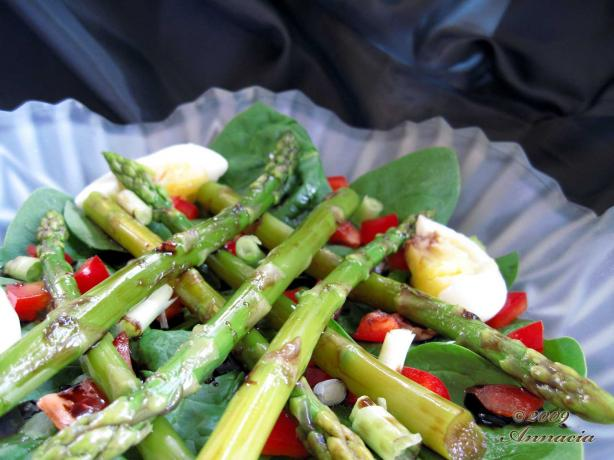 Asparagus Salad. Photo by Annacia