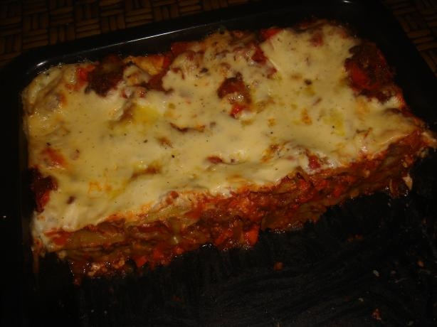 Mouthwatering Beef Lasagna. Photo by sasha's kitchen