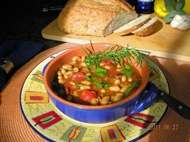 Tuscan Bean Soup (America's Test Kitchen). Photo by gemini08
