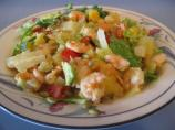 Shrimp, Mango and Avocado Salad W/ Passion Fruit Vinaigrette