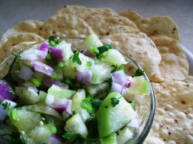 Tomatillo Salsa. Photo by 2Bleu